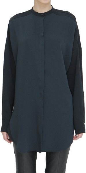 Costume National Over Silk Shirt - Lyst