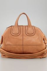 Givenchy Nightingale Zanzi Leather Satchel Bag Larg - Lyst
