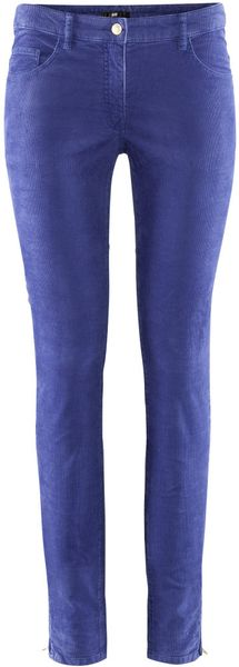 H&m Trousers in Blue - Lyst