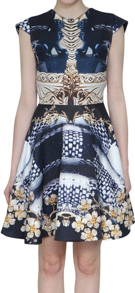 Mary Katrantzou Darko Jersey Dress - Lyst