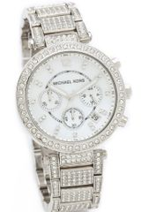 Michael Kors Parker Glitz Chronograph Watch - Lyst