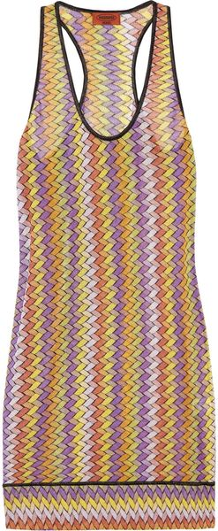 Missoni Crochet-knit Beach Dress - Lyst