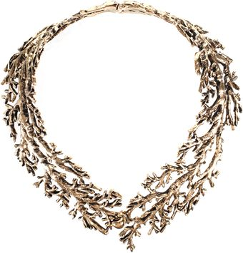Aurelie Bidermann Aphrodite Necklace in Gold Metal - Lyst