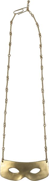 Aurelie Bidermann Gold Metal Or Silver Metal Joy Loup Necklace - Lyst
