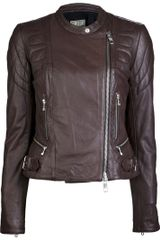 Closed Leather Jacket - Lyst