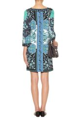 Emilio Pucci Foulard Print Dress in Blue (navy) - Lyst