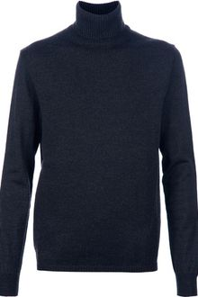 Jil Sander Turtle Neck Sweater - Lyst