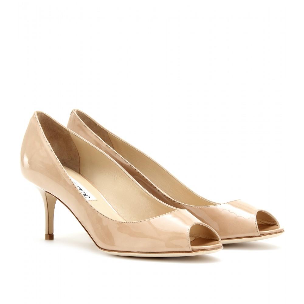 Nude Shoes Kitten Heel