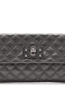 Marc By Marc Jacobs Large Eugenie Quilted Leather Clutch - Lyst