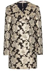 Marni Metallic Brocade Coat - Lyst