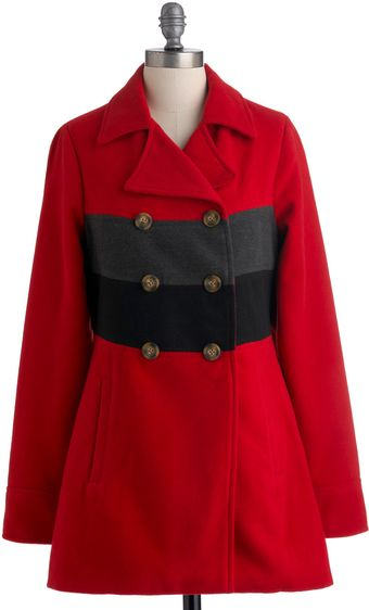 ModCloth North Woods Coat - Lyst