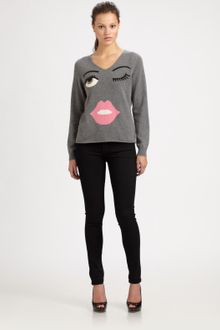 Moschino Cheap & Chic Eye Cashmere Sweater - Lyst