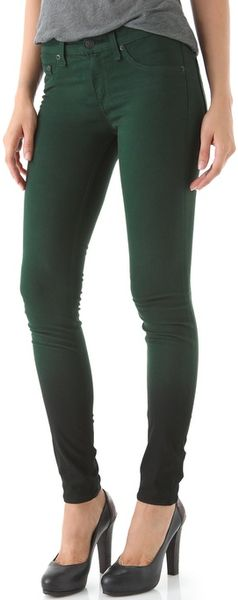 Rag & Bone The Legging Jeans in Green (forrest) - Lyst