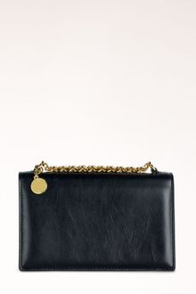 Stella McCartney Grace Faux Leather Clutch - Lyst