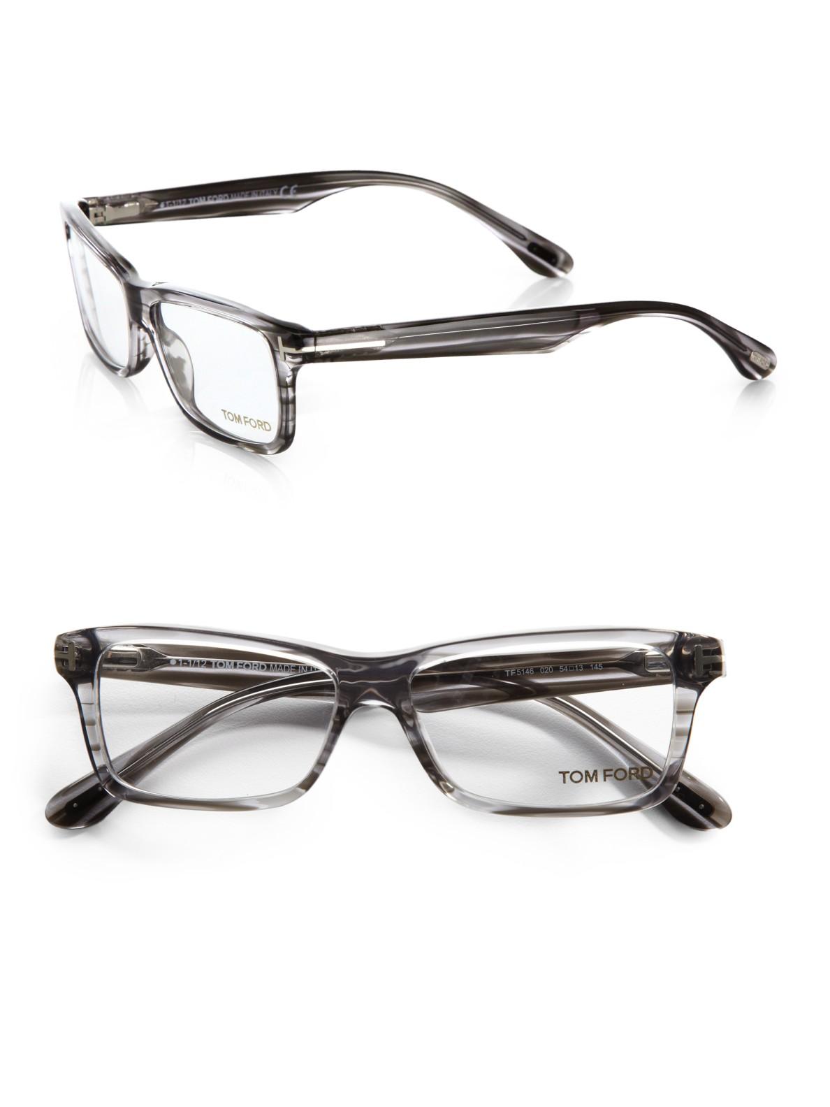 1077b9ce066f Lyst - Tom Ford Plastic Optical Frames in Gray for Men