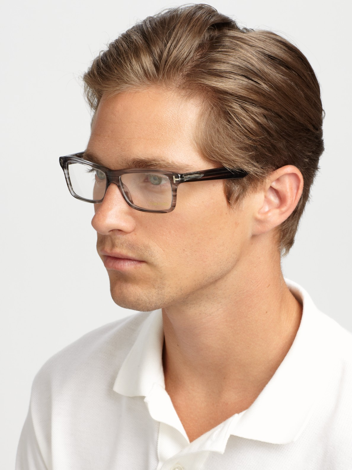 ac48a315a7 Lyst - Tom Ford Plastic Optical Frames in Gray for Men