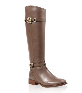 Tory Burch Calista Flat Riding Boot - Lyst