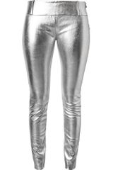 Acne Best Hip Leather Trousers - Lyst