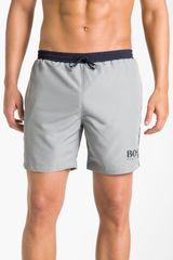 Boss Black Starfish Volley Swim Shorts - Lyst