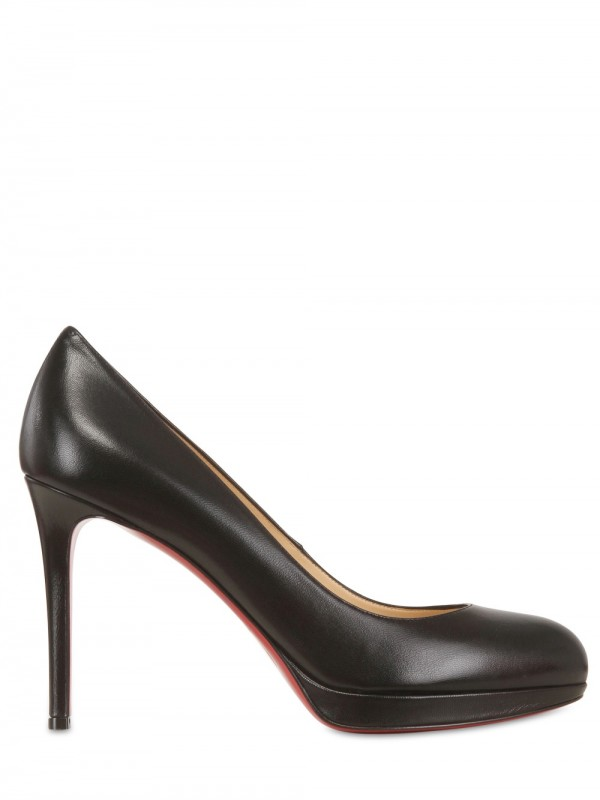 977c207a14 Christian Louboutin 100mm New Simple Pump Kid Pumps in Black - Lyst