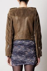 Isabel Marant Esther Jacket in Brown (khaki) - Lyst