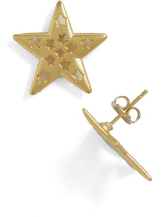 ModCloth Shining Style Earrings - Lyst
