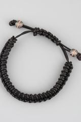 Stephen Webster Woven Leather Bracelet - Lyst