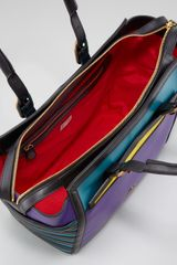 Christian Louboutin Farida Colorblock Bowler in Multicolor (red) - Lyst