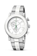 Gucci G Chrono Stainless Steel and Ceramic Bracelet Watch 44mm - Lyst