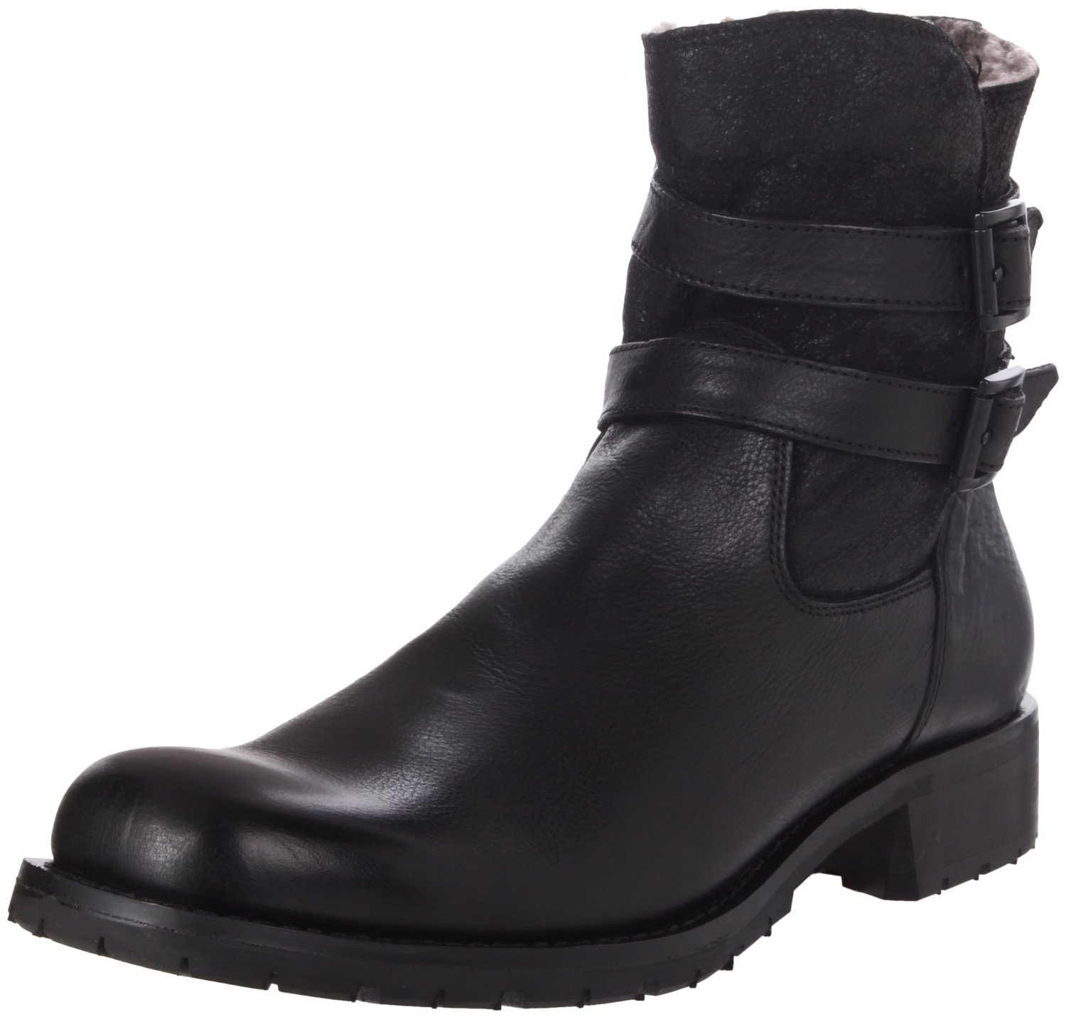 kenneth cole bike set boot in black for lyst