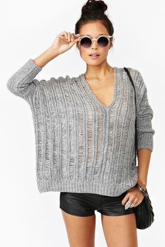 Nasty Gal Haze Knit - Lyst