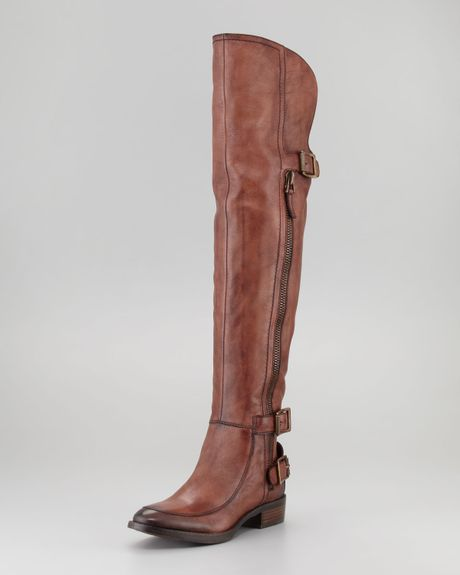 Sam Edelman Paulina Overtheknee Boot in Brown (whiskey) - Lyst