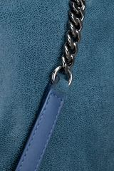 Stella Mccartney Falabella Shoulder Bag in Blue - Lyst