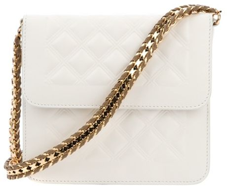 Stella Mccartney Falabella Shoulder Bag in White - Lyst