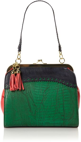 Therapy Harriet Frame Bag in Green - Lyst