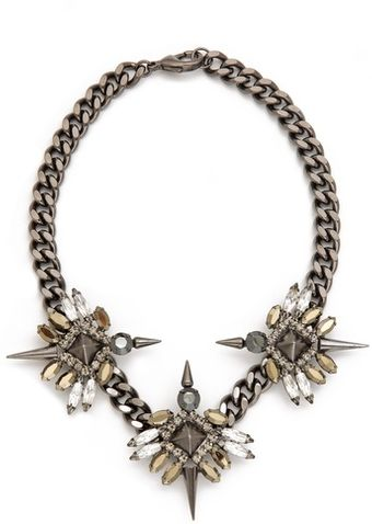 Fallon Jewelry Triple Winged Necklace - Lyst