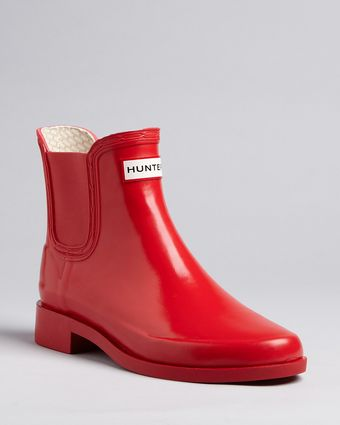 Hunter Rain Booties Bradwell - Lyst