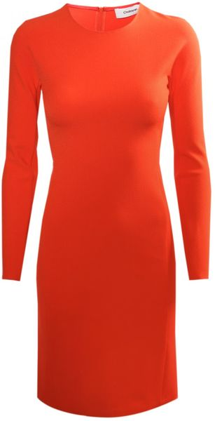 Hussein Chalayan Nothing Mini Dress Cherry Tomato Red in Red (cherry) - Lyst