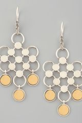 John Hardy Gold-Drop Dot Earrings - Lyst