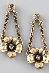 Marc By Marc Jacobs Flower Garland Earrings - Lyst