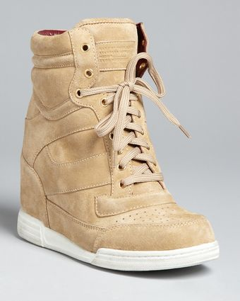 Marc By Marc Jacobs Wedge High Top Sneaker Booties - Lyst