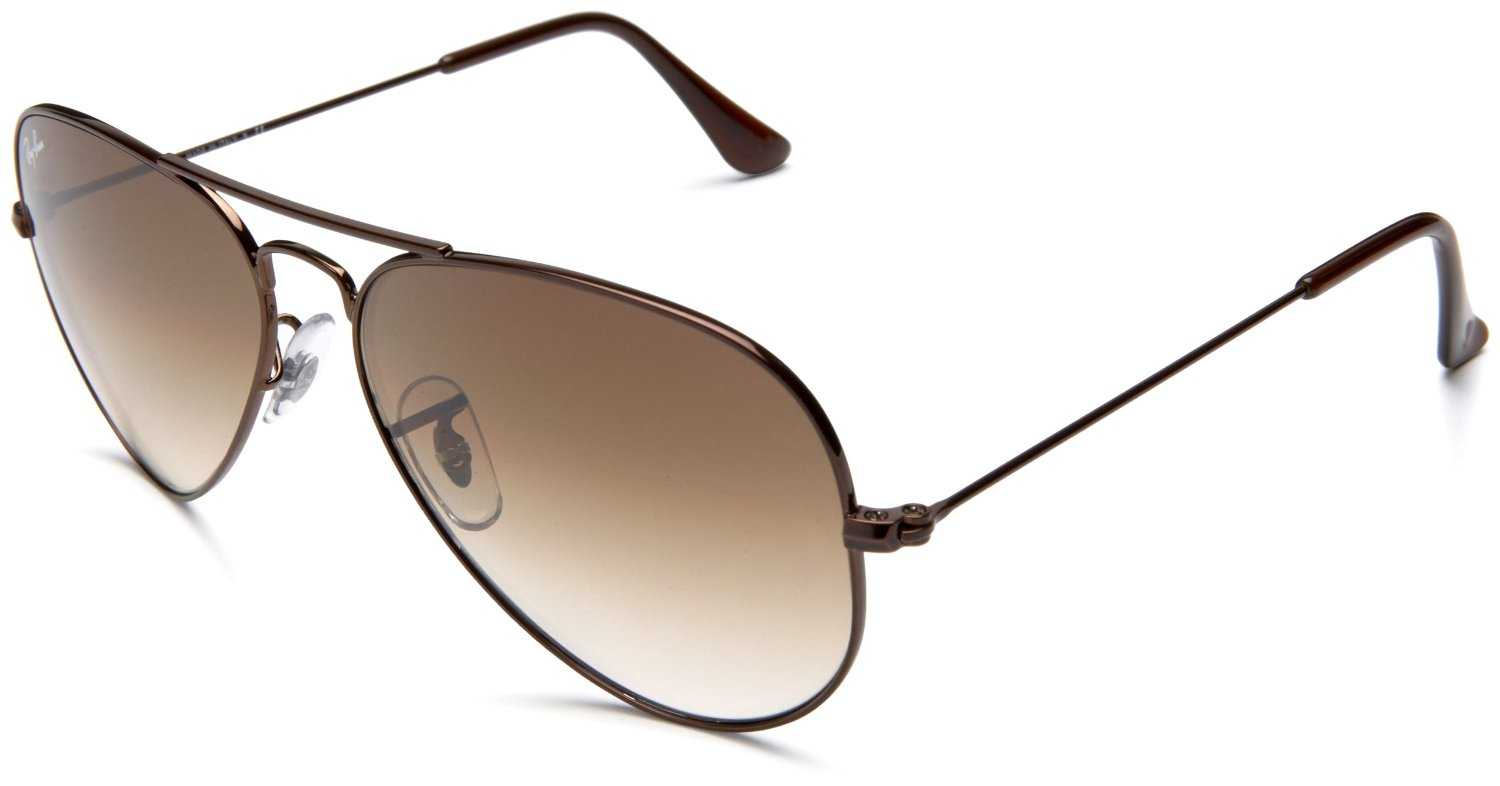 Ray-ban Rayban Aviator Sunglasses in Brown for Men (brown ...