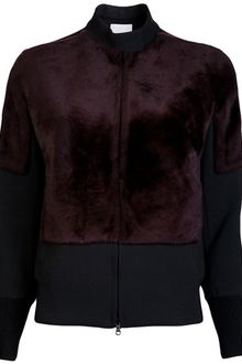 3.1 Phillip Lim Wool Blend Bomber Jacket - Lyst