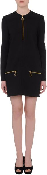 Celine Short Dress in Black - Lyst