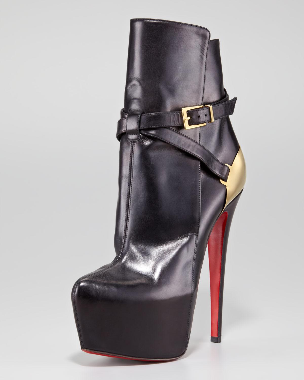 best sneakers 02fda 05f43 Artesur » christian louboutin Equestria ankle boots