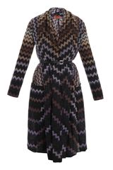 Missoni Degrade Zigzag Long Cardigan - Lyst
