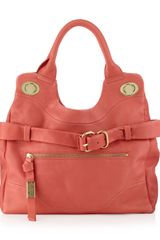 Foley + Corinna Jet Set Mini Tote Coral - Lyst