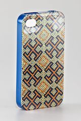 Tory Burch Hardshell Logoprint Iphone 4 Case - Lyst