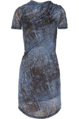 See By Chloé Venice Printed Fine Jersey Dress - Lyst