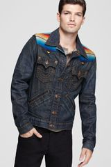 True Religion Baja Johnny Western Jacket - Lyst